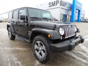 2016 Jeep Wrangler Unlimited Sahara 4WD, heated seats, rem. star