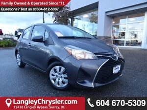 2016 Toyota Yaris LE *ACCIDENT FREE * LOCAL BC CAR *