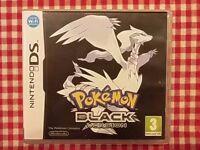 Pokemon Black Nintendo DS