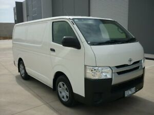 2015 Toyota HiAce KDH201R LWB White 4 Speed Automatic Van Grovedale Geelong City Preview