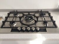 5 Ring AEG Gas Hob - slick and stylish excellent condition - 1.5 years old
