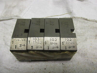 Hg Die Head Blockscarriers 103 Series 1 1732-1 34