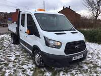 Ford Transit Double Cab Tipper van for sale manchester