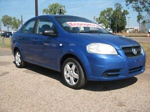 2006 Holden Barina TK MY07 Blue 5 Speed Manual Sedan Holtze Litchfield Area Preview