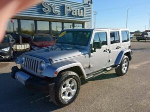 2014 Jeep Wrangler Unlimited $244 Bi-Weekly OAC!!!