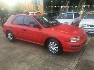 1993 Subaru Impreza Red West Ryde Ryde Area Preview