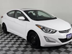 2015 Hyundai Elantra GLS w/Heated Seats-Sunroof-Blueooth-Back Up