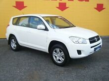 2010 Toyota RAV4 ACA38R MY09 CV 4x2 White 4 Speed Automatic Wagon Winnellie Darwin City Preview