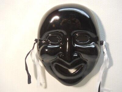 Black Porcelain Mask Wall Decor Hangings tassels
