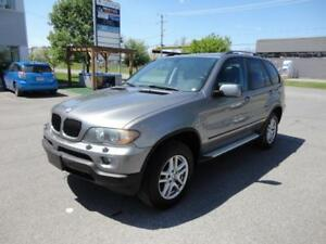 2005 BMW X5 3.0l Toit Pano-Air-Mags