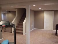 BEST PRICE in city basements , home renovation,office