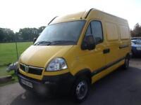 VAUXHALL MOVANO 3300 MWB H-R CDTI Yellow Manual Diesel, 2008
