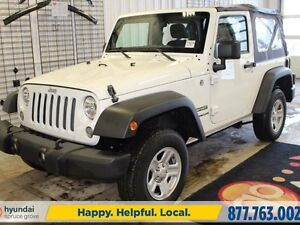 2014 Jeep Wrangler SPORT/4X4/MANUAL/HITCH/SOFT TOP