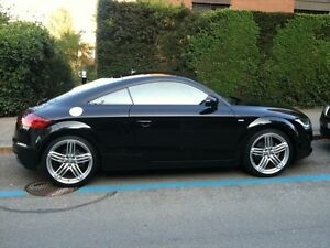 Looking for an Audi TT coupe S-line, TTS or convertible - black