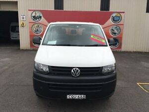 2013 Volkswagen Transporter T5 MY13 TDI340 White 7 Sports Automatic Dual Clutch 4D Van Wagon Gosford Gosford Area Preview