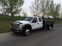 2012 Ford F-450 XLT Crewcab DIESEL 4x4 11ft Deck