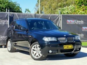 2008 BMW X3 Black Automatic 4-Door Wagon Carrara Gold Coast City Preview