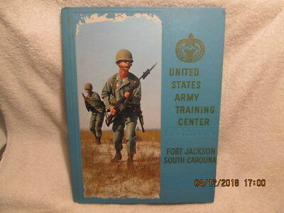 1968 Book US Army Training Center Fort Jackson SC 1st Battalion Co. B