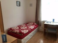 Nice twin room -share or private- to rent in Hackney, all bills included, free wifi, ID: 682