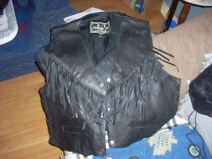 LEATHER coats jackets sports teams harley vests and Bball caps Windsor Region Ontario image 6