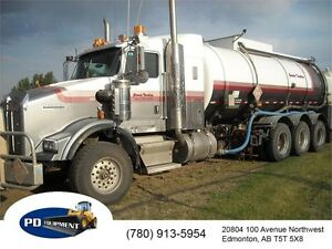 2007 Kenworth T800 Tri Drive Sour Sealed Tank Truck