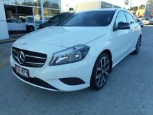 2014 Mercedes-Benz A200 W176 D-CT White 7 Speed Sports Automatic Dual Clutch Hatchback Buderim Maroochydore Area Preview
