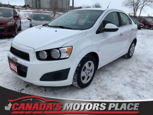 2013 Chevrolet Sonic LT LT | Bluetooth | USB | CLEAN