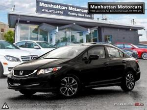 2015 HONDA CIVIC EX AUTO |CAMERA|SIDECAMERA|ROOF|PHONE|ONLY76KM