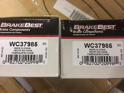 WC37985 Pair of BrakeBest Wheel Cylinders (Lot of 2) (NEW)