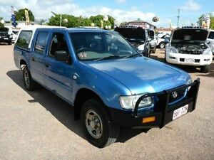 2002 Holden Rodeo TF MY02 LX Crew Cab Blue Automatic Utility Rosslea Townsville City Preview