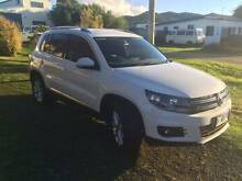 2013 Volkswagen Tiguan Wagon 155TSI 4x4 5NCMY13 TURBO Sisters Beach Waratah Area Preview