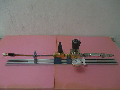 Kinetics Fluid System Gas Line, Tescom 150, USG Meter