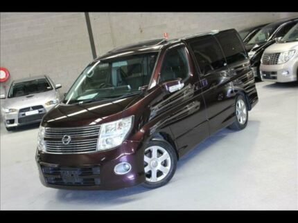 2008 Nissan Elgrand HIGHWAY STAR E51 AUTOMATIC Braeside Kingston Area Preview