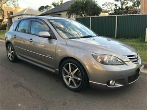 2004 Mazda 3 BK SP23 Grey 4 Speed Auto Activematic Hatchback Chester Hill Bankstown Area Preview