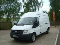 2010 FORD TRANSIT 2.4 TDCI LWB High Roof Van [140ps] 99,000 MILES