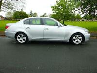 2008 57'reg BMW 520d SE**Leather, SAT NAV, Air Con, Alloys, Parking Sensors**