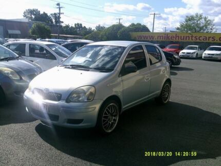 2004 Toyota Echo NCP10R Blue 4 Speed Automatic Hatchback