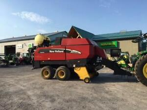 2008 NEW HOLLAND BB940A SQUARE BALER
