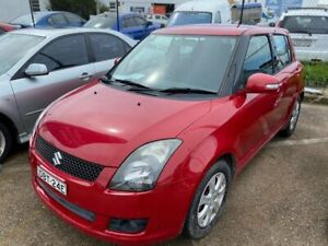 2009 Suzuki Swift RS415 Extreme Red 5 Speed Manual Hatchback Wickham Newcastle Area Preview