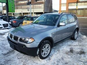 2005 BMW X3 2.5i PANO ROOF/ALLOYS/ONLY 107450  KMS!