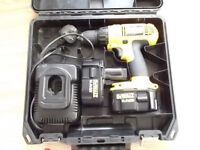 14.4 volt cordless DeWALT drill