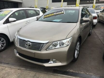 2013 Toyota Aurion GSV50R Prodigy Bronze 6 Speed Sports Automatic Sedan