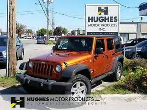 2010 Jeep Wrangler Unlimited Sport | Manual | Only 60,000 KM