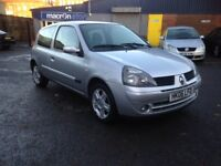 2006 RENAULT CLIO 1149cc - VERY GOOD CONDITION, DRIVES EXTREMELY WELL