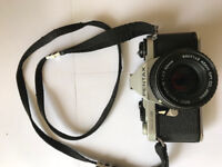 Pentax ME Super 35mm with Pentax 50mm F 1.7 lens