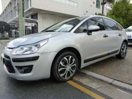 2010 Citroen C4 MY09 HDI Exclusive Silver 6 Speed Automatic Hatchback Southport Gold Coast City Preview