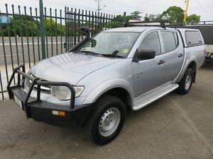 2011 Mitsubishi Triton MN MY11 GLX Silver 4 Speed Automatic Dual Cab Reynella Morphett Vale Area Preview