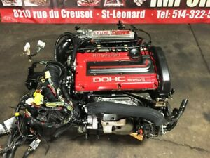JDM MITSUBISHI 4G63T CYCLONE 6 BOLT ENGINE MT AWD TRANSMISSION