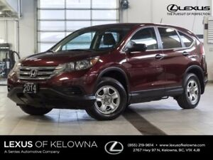 2014 Honda CR-V LX AWD w/Heated Seats