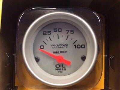 New Auto Meter Oil Pressure Gauge 4327